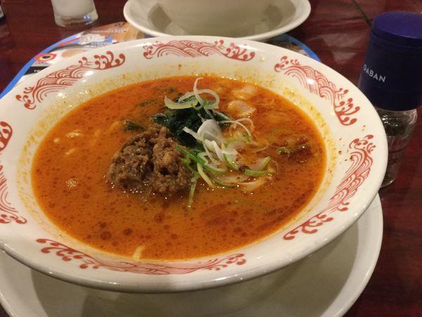 「花椒とラー油の担担麺ランチセット850円」@バーミヤン 北千住店の写真