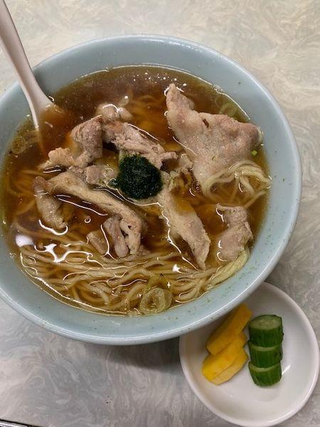 「肉そば 650円」@伊勢屋食堂の写真