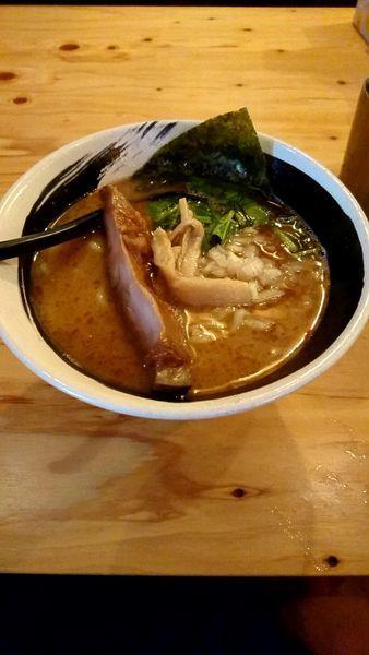 「こく醤そば 790円大盛無料」@麺場 浜虎 横浜店の写真