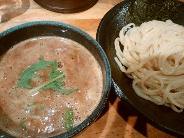 「つけ麺 大盛」@つけ麺 雀 アメ村本店の写真