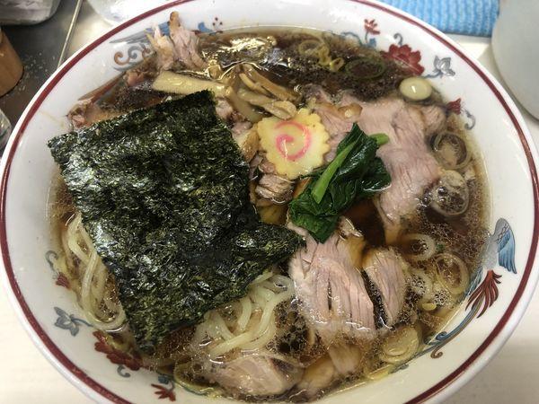 「青島チャーシュー+自家製麺(900+50円)」@青島食堂 秋葉原店の写真