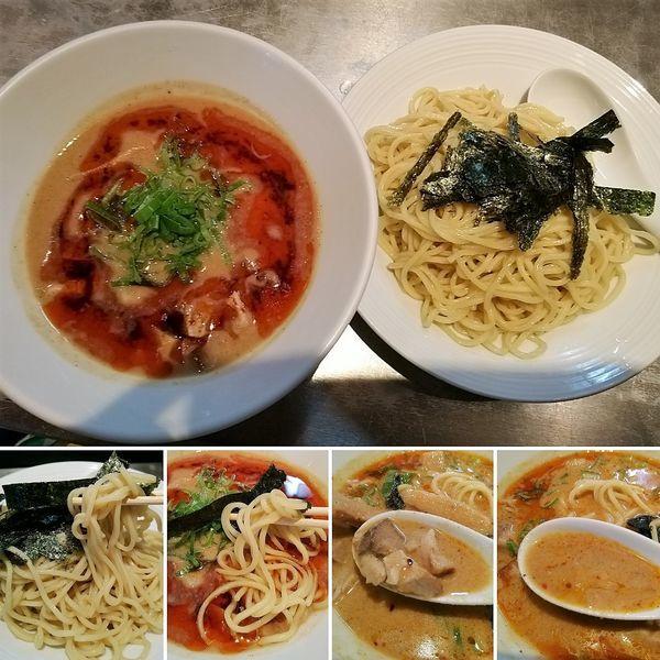 「担々麺つけ麺(限定)  1100円」@麺 やまらぁの写真