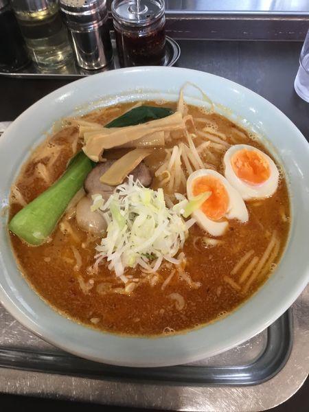 「旨辛みそ 900円」@煮干らー麺 カネショウ 四街道の写真