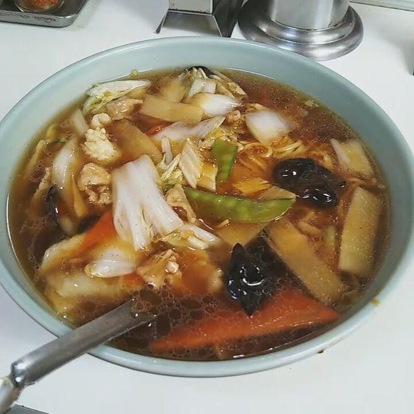 「広東麺」@兆楽 道玄坂店の写真