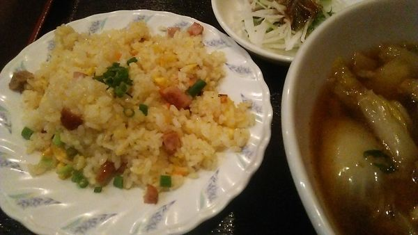 「C定食セット 850円」@健康中華 青蓮 さいたま新都心店の写真