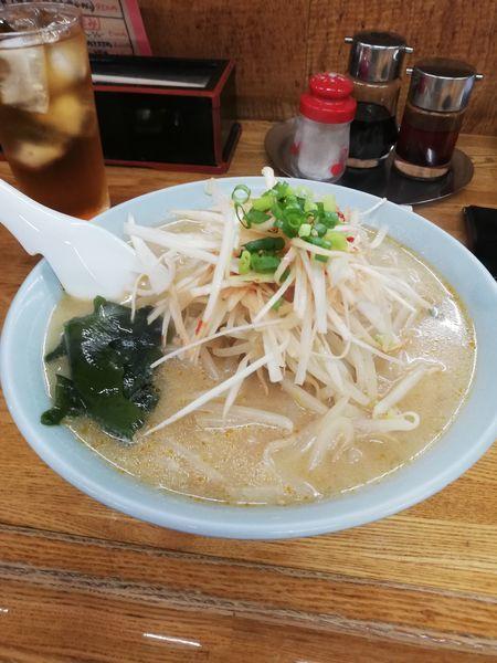 「ネギ味噌ラーメン」@知床の写真