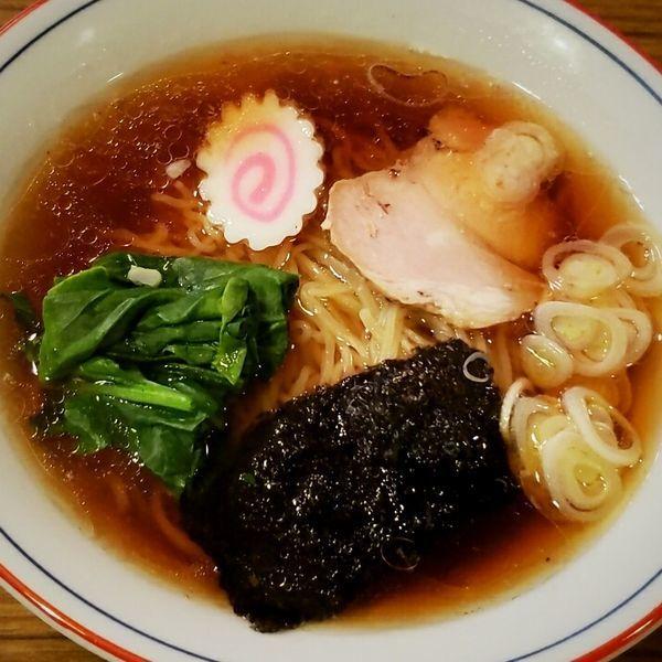 「ラーメン 700円」@根ぎし食堂の写真