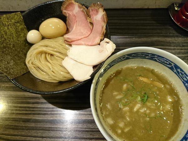 「特製重濃煮干つけ麺(1050円)」@志奈そば 田なかの写真
