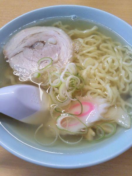 「ラーメン+餃子3個」@らーめん 大金の写真