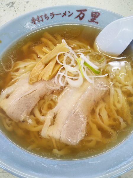 「ラーメン+餃子」@万里の写真