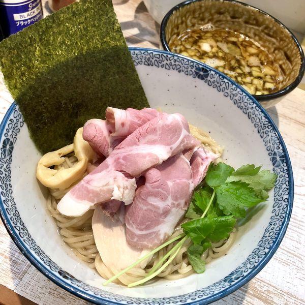 「【気まぐれ限定】淡麗煮干しつけそば ¥900」@中華そば 四つ葉の写真