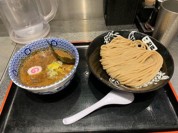 「濃厚つけめん並(920円)」@松戸富田麺絆の写真