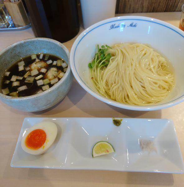 「つけ麺(黒)」@中華蕎麦 あお木の写真