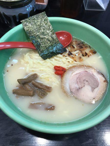 「むさし坊らーめん 太麺     ¥750」@麺匠 むさし坊 武蔵浦和本店の写真