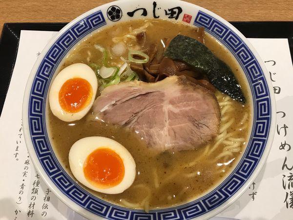 「濃厚味玉らーめん ¥950」@つじ田 ららぽーと湘南平塚店の写真