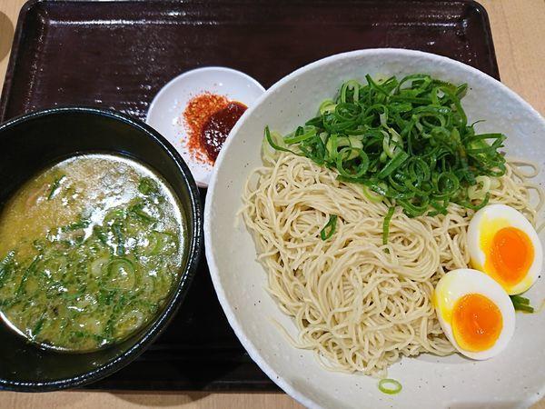 「細つけ麺+玉子、ネギ(1069円)」@IPPUDO RAMEN EXPRESS さいたま新都心コクーン店の写真