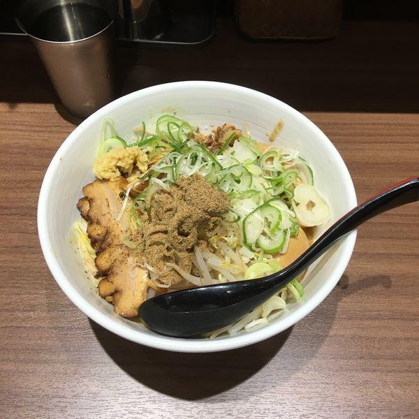 「特製味噌まぜそば」@東京スタイルみそらーめん ど・みそ キッテグランシェ店の写真