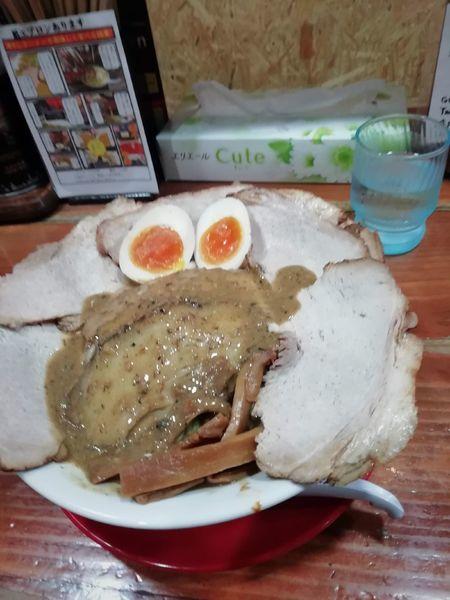 「ごぐにぼ+もも肉チャーシュー+煮玉子」@長尾中華そば 東京神田店の写真