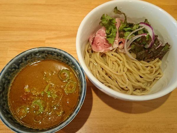 「【限定】スパイシーなカレーつけ麺 ¥880」@らーめん コッコの写真