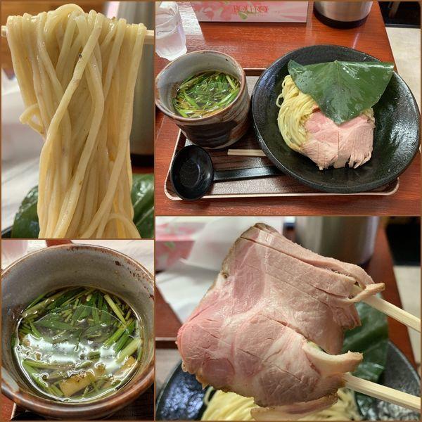 「葉、薫るつけ麺 しいたけ出汁(冷)¥900」@創作麺処 スタ★アトの写真