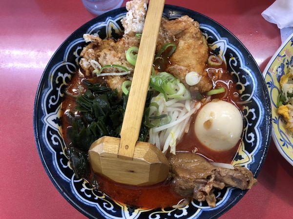 「台湾ラーメン+チャーハン ¥750」@宝島の写真