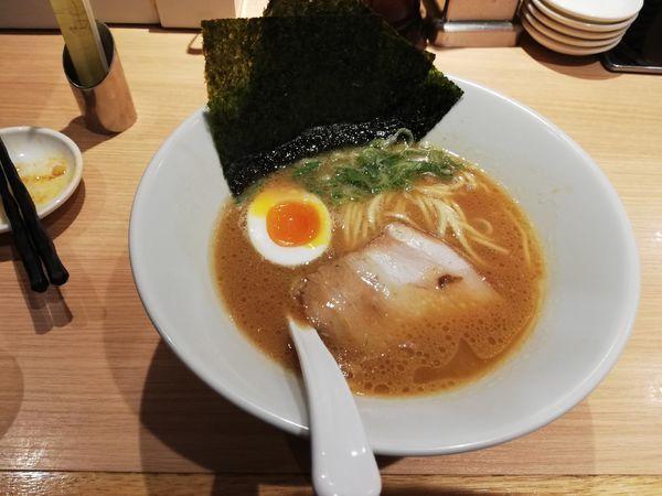 「醤油豚骨ラーメン 限定」@博多一風堂 五反田東口店の写真