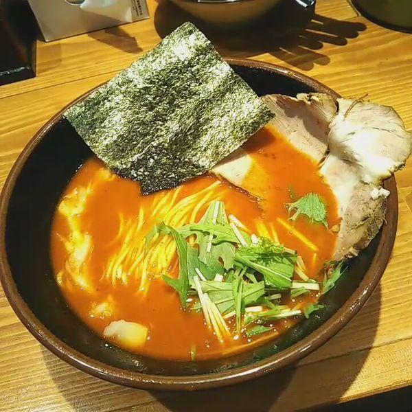 「赤辛ラーメン 阿修羅」@麺屋 真心の写真