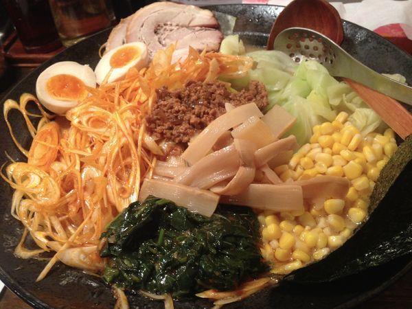 「凄い味噌らーめん」@らーめん東京食品 六本木店の写真