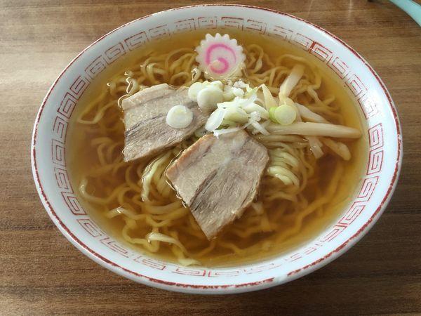 「中華そば(細麺)」@食堂なまえの写真