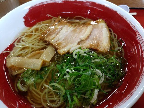 「六角醤油らーめん720円」@近江らーめん 六角の写真