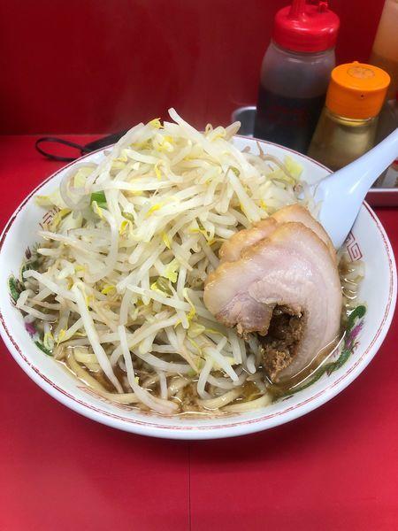 「ラーメン 麺固め 野菜増し増し」@赤ひげラーメンの写真