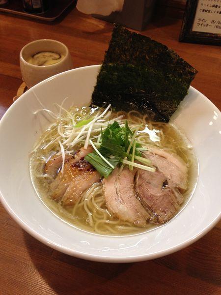 「鴨塩ラーメン 780円」@鳴馬良の写真