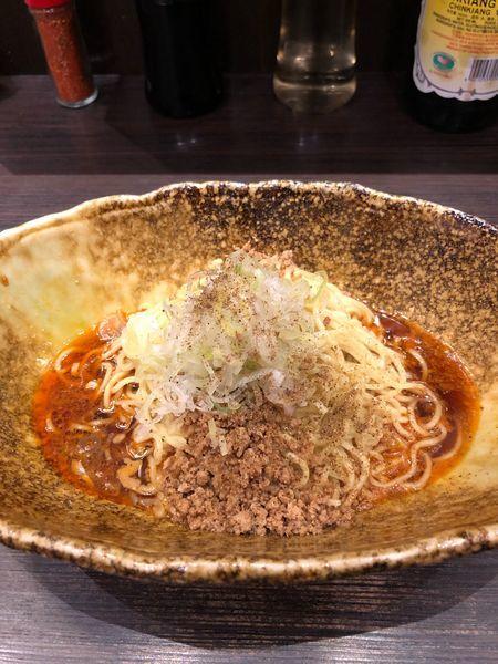 「汁なし坦々麺 ×1」@中華そば くにまつ 本店の写真