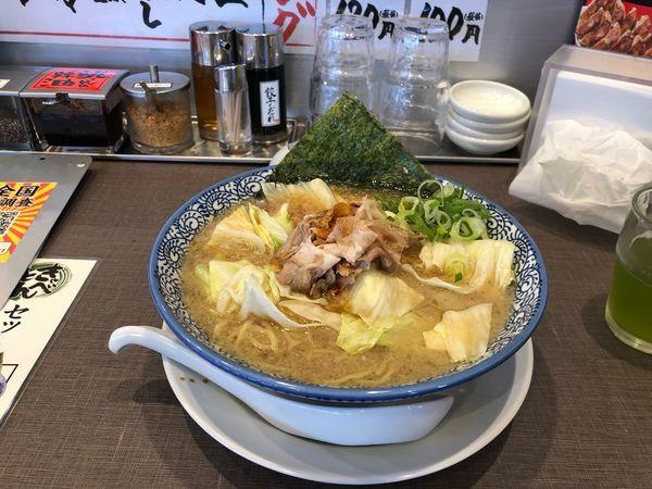 「きゃべとん  734円」@きゃべとんラーメン 入間インター店の写真