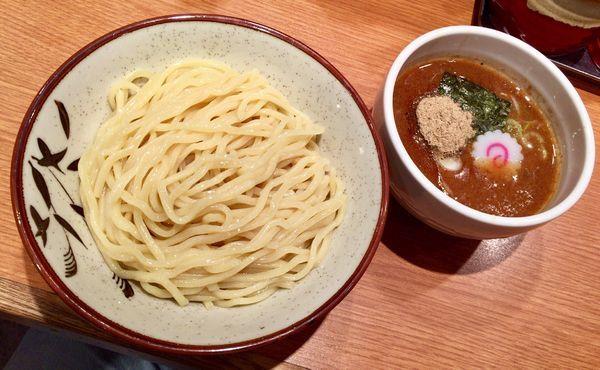 「濃厚魚介つけめん 並」@東池袋大勝軒 京都拉麺小路店の写真
