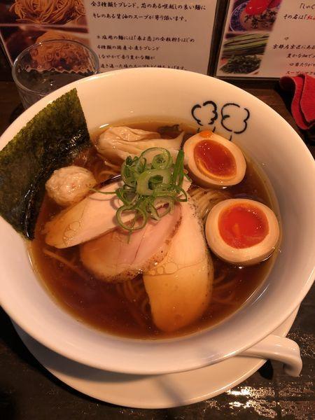 「特製鶏の醤油」@鶏喰~TRICK~の写真