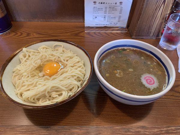 「特製もりそば+生卵」@大勝軒の写真