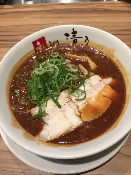 「和歌山ラーメン辛さ増し ¥930円」@和dining 清乃 難波店の写真