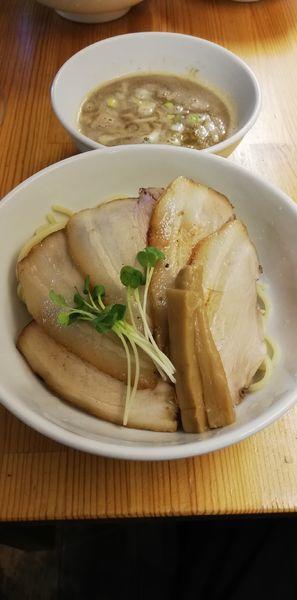 「チャーシューつけ麺 中盛り」@烏城の写真