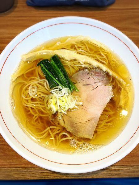 「白だし醤油ら〜麺」@ら~麺 安至の写真