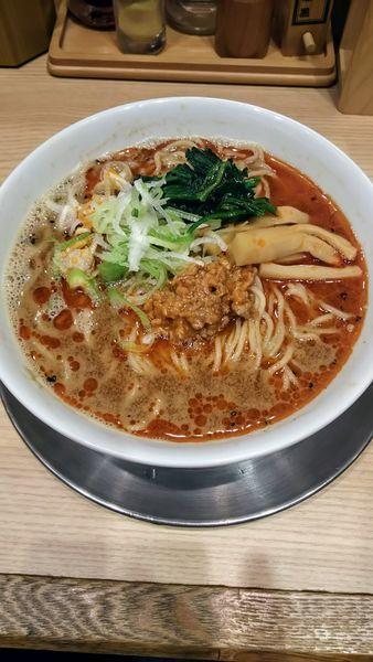 「担々麺」@舎鈴 JRさいたま新都心ビル店の写真