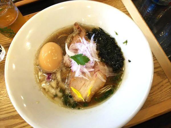 「味玉金煮干しそば 930円」@麺's キッチン RIRIの写真