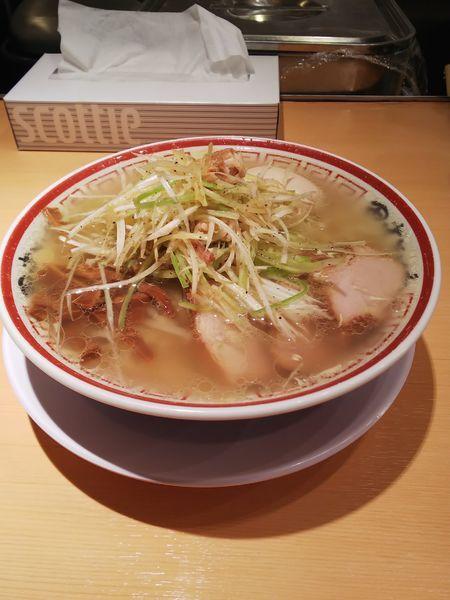 「ねぎそば+味玉」@田中そば店の写真