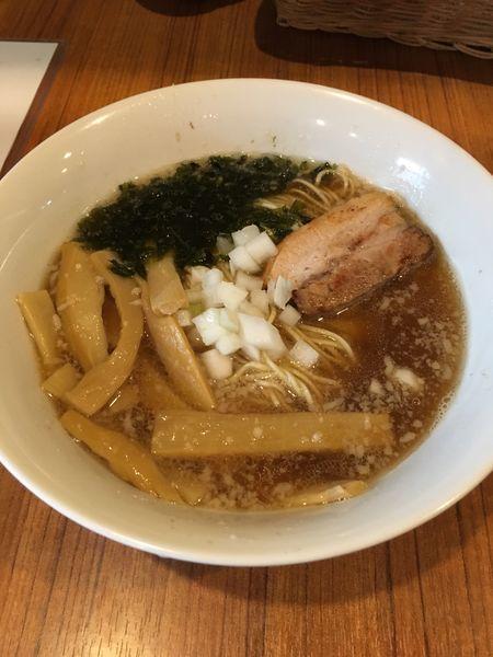 「ラーメン+メンマ増」@麺&cafe Coi.Coi.の写真