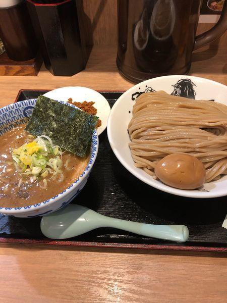 「辛つけ麺(大盛)」@松戸富田麺業の写真