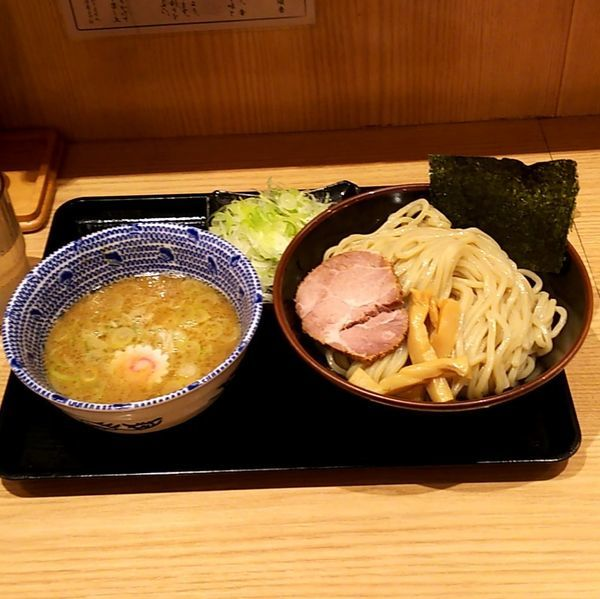 「つけめん(並盛)+ねぎ」@舎鈴 大島駅前店の写真
