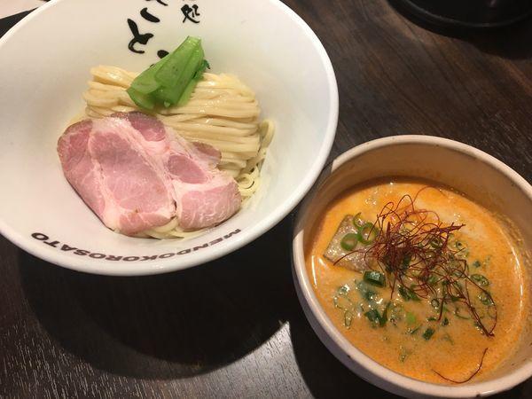 「冷やし担々つけ麺」@麺処 さとう 桜新町店の写真