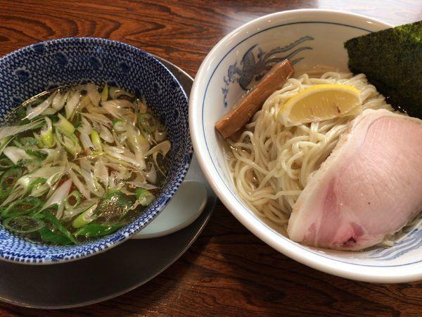「昆布水つけ麺(塩)」@中華そば 一楽の写真