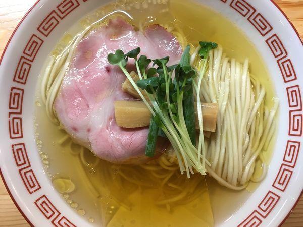 「(竹)中華そば 750円」@自家製麺 くろ松の写真