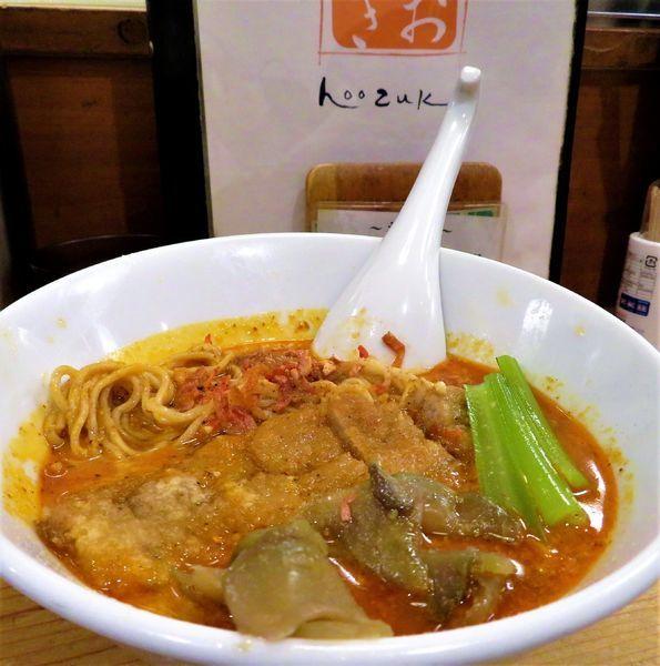 「排骨担々麺(990円)」@担々麺 ほおずきの写真